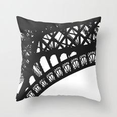 Eiffel Detail Throw Pillow