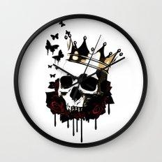 El Rey de la Muerte Wall Clock