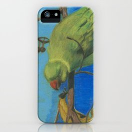 parrot 3 iPhone Case