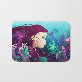 Underwater life Bath Mat