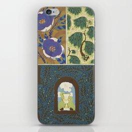 Art Deco vintage pattern iPhone Skin