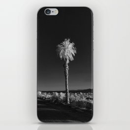 Salton Sea, Ca - Palm Tree iPhone Skin