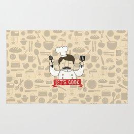 Let's Cook! Rug