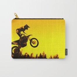 Sunset Run - Motocross Racer Carry-All Pouch