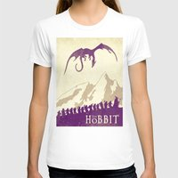 the hobbit T-shirts featuring The Hobbit by WatercolorGirlArt