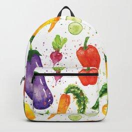 Very Veggie Pattern Backpack