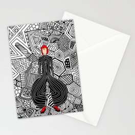 Heroes Fashion 6 Stationery Cards
