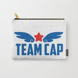 Kawaii Team Cap Logo Carry-All Pouch