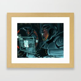 Jaegers Framed Art Print