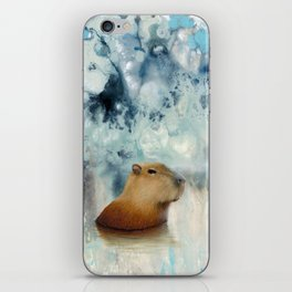 Capybara Springs iPhone Skin