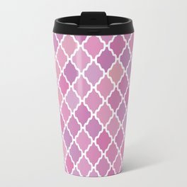 Pink Purple Pattern Travel Mug