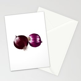 Red Onion Stationery Cards