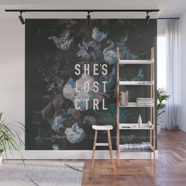 She's Lost Control Wall Mural
