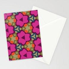Flower-Caleidoscope Stationery Cards
