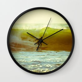 Pete's Wave Wall Clock