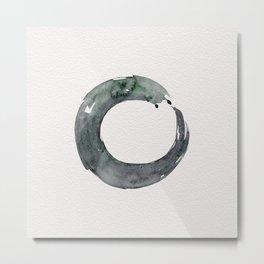 Enso Serenity No.12C by Kathy Morton Stanion Metal Print