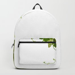 Green grape vine Backpack