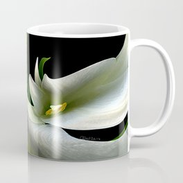 Descent of the Easter Lilies Coffee Mug