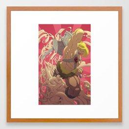 He-Man // CLEAN Framed Art Print