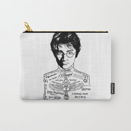 Harry Tattoo Potter Carry-All Pouch