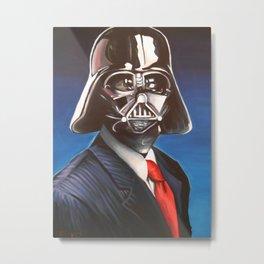 Dapper Vader Metal Print