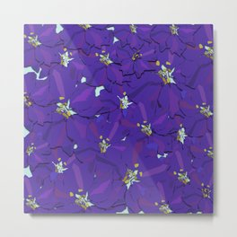 Larkspur Love Metal Print