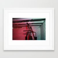 psychology Framed Art Prints featuring Psychology of Crime 03 by Michael Swann