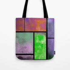 Textured Windows - Modern, abstract, textured painting Tote Bag