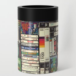 Cassettes, VHS & Games Can Cooler