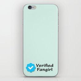 Verified Fangirl iPhone Skin