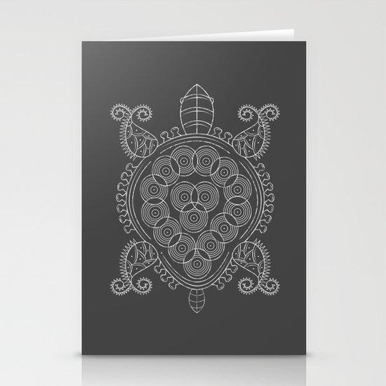 Pattern Tortoise  Stationery Cards
