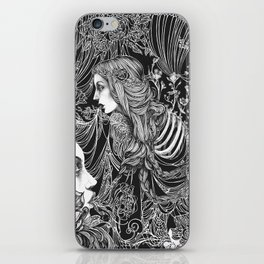 Brimming Thoughts iPhone Skin