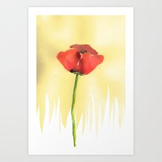 The Poppy Art Print