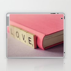 journal love Laptop & iPad Skin