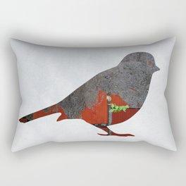 Little Garden Bird Rectangular Pillow
