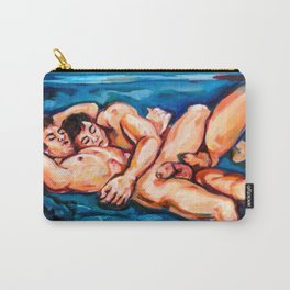 Resting lovers Carry-All Pouch
