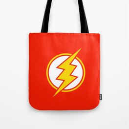 Flash Sign Tote Bag