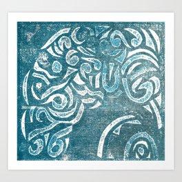 Billow Art Print