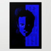 jesse pinkman Art Prints featuring Jesse Pinkman  by Micah Lanier