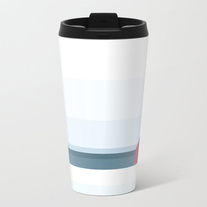 Less is more Metal Travel Mug