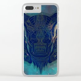 illuminated tigers Clear iPhone Case