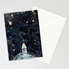to boldly go Stationery Cards