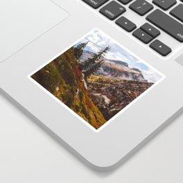 Alpine Autumn Sticker