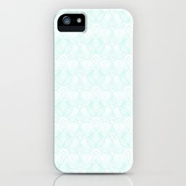 Miami Beach Motel- Mint iPhone Case