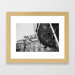 Paris Carousel Framed Art Print