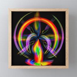 Abstrakt - Perfektion 51 Framed Mini Art Print