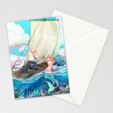Mermaid & Sailor Stationery Cards