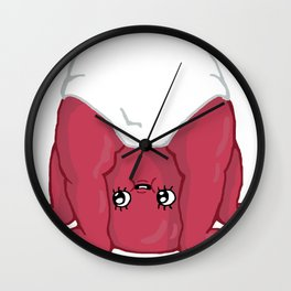 Baby Ricky (known from Adv. Time) Wall Clock