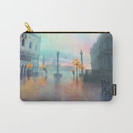 Rainy Evening in Venice Carry-All Pouch