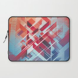 Future Cityscape Laptop Sleeve
